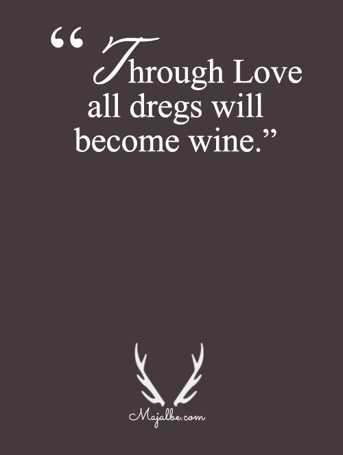 Dregs Will Become Wine