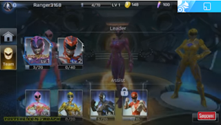 Power Rangers Legacy Wars MOD Unlimited Money for iOS & Android Full Features Free Download