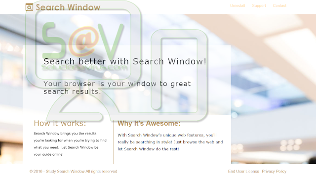 Study Search Window (Adware)