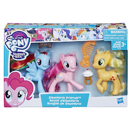 My Little Pony Equestria Friends Applejack Brushable Pony