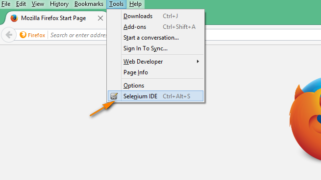 Selenium-By-Arun: 'select' command in Selenium IDE for