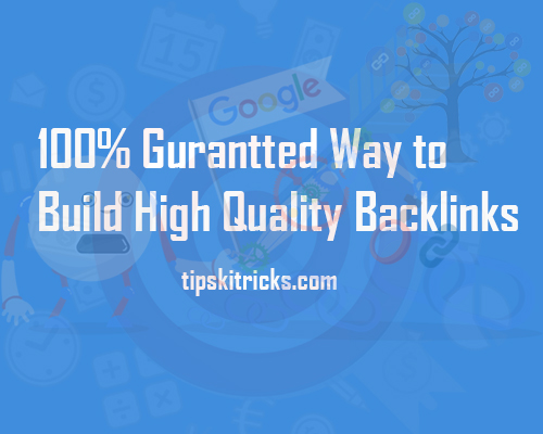 Get Backlinks for Free