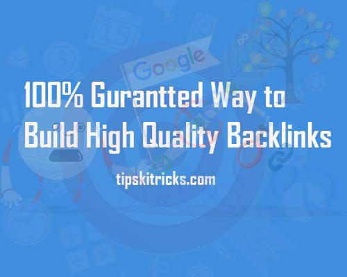 Get Backlinks for Free