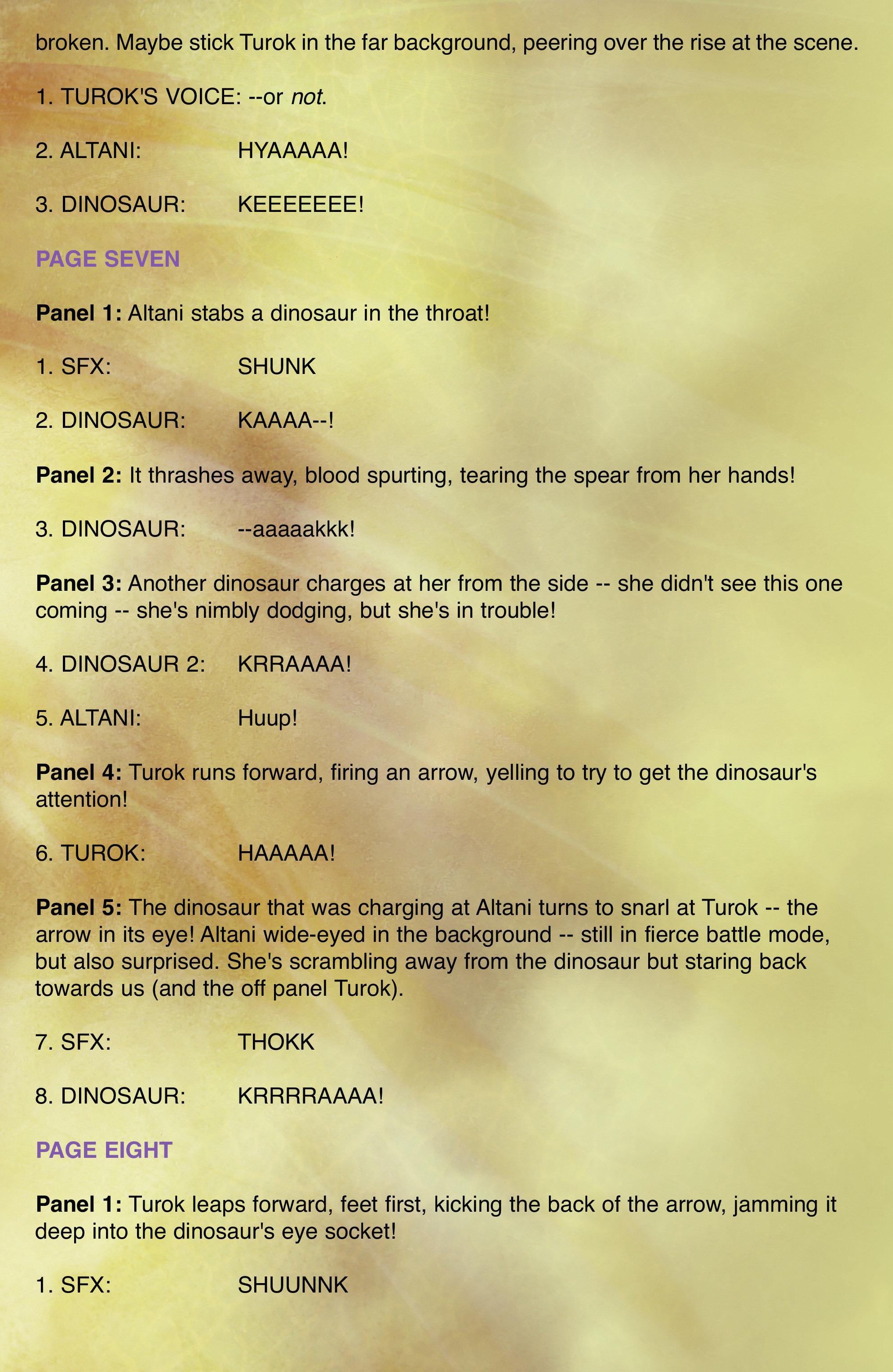 Read online Turok: Dinosaur Hunter (2014) comic -  Issue # _TPB 2 - 93