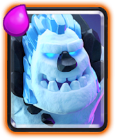 The Ice Golem Card