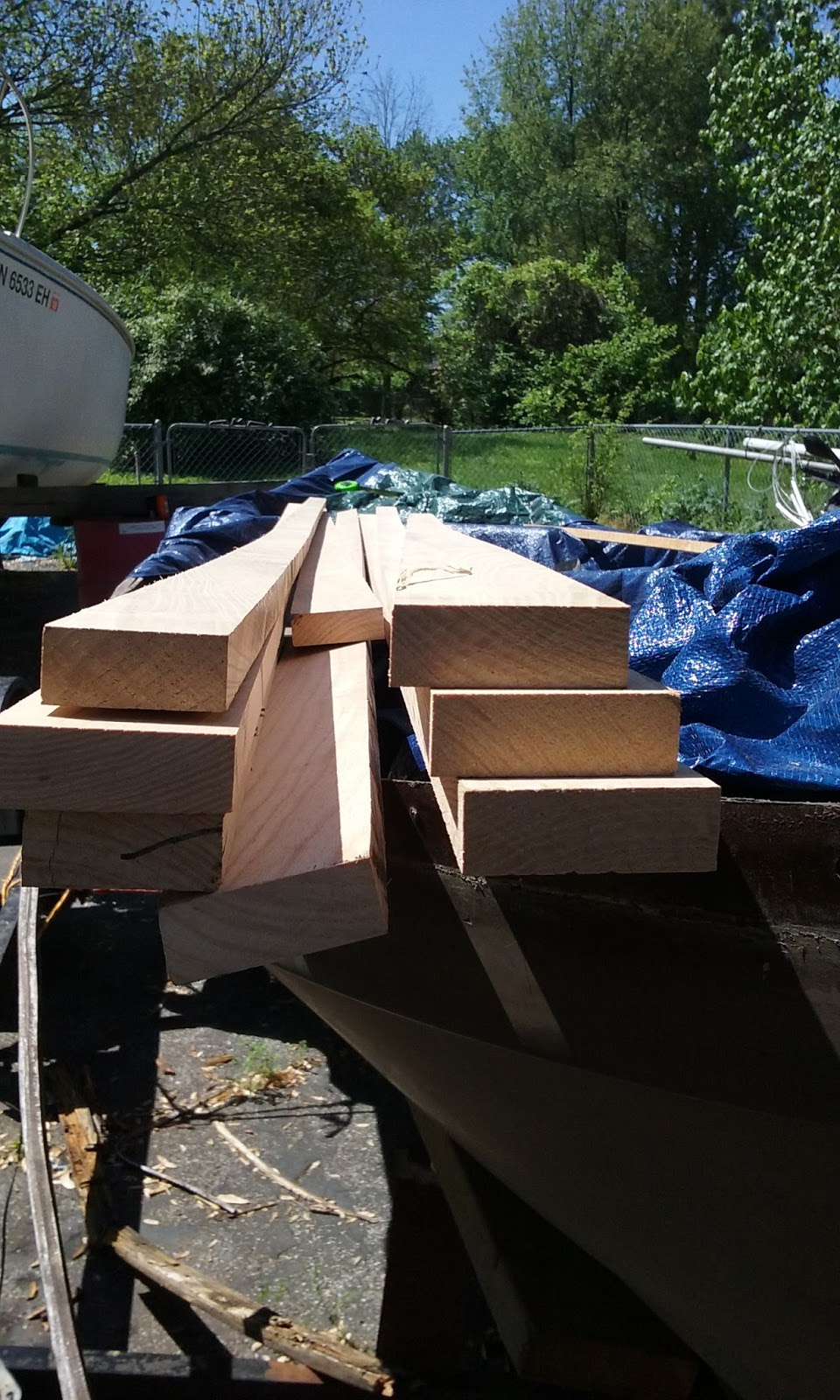 From Norway to the Cumberland: Gunnel/Rub Rail rebuild