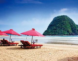 Wisata seru di banyuwangi pantai merah