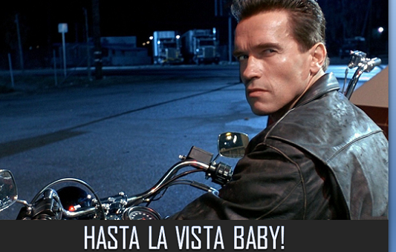 Arnold Schwarzenegger se despide de Wordpress.com