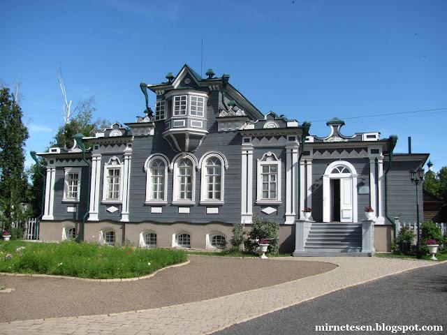 Музей декабристов в Иркутске - Дом Трубецких