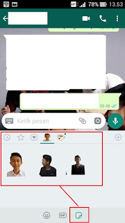 membuat sticker whatsapp