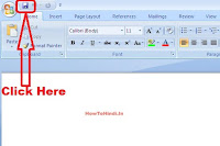 how to create password protected word document 2007