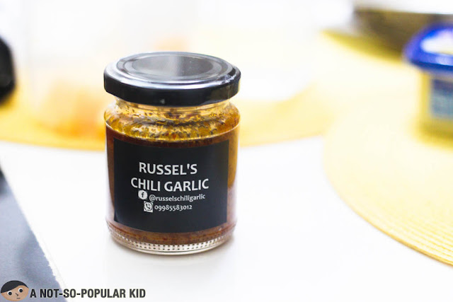 Russel's Chili Garlic - 10 hours of love for this special treat!