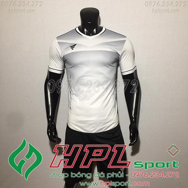 Áo bóng đá không logo TA Eco màu trắng