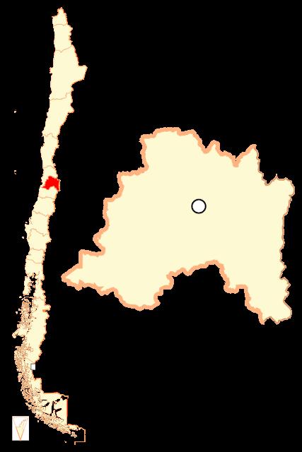 Localização da Região Metropolitana de Santiago - Chile