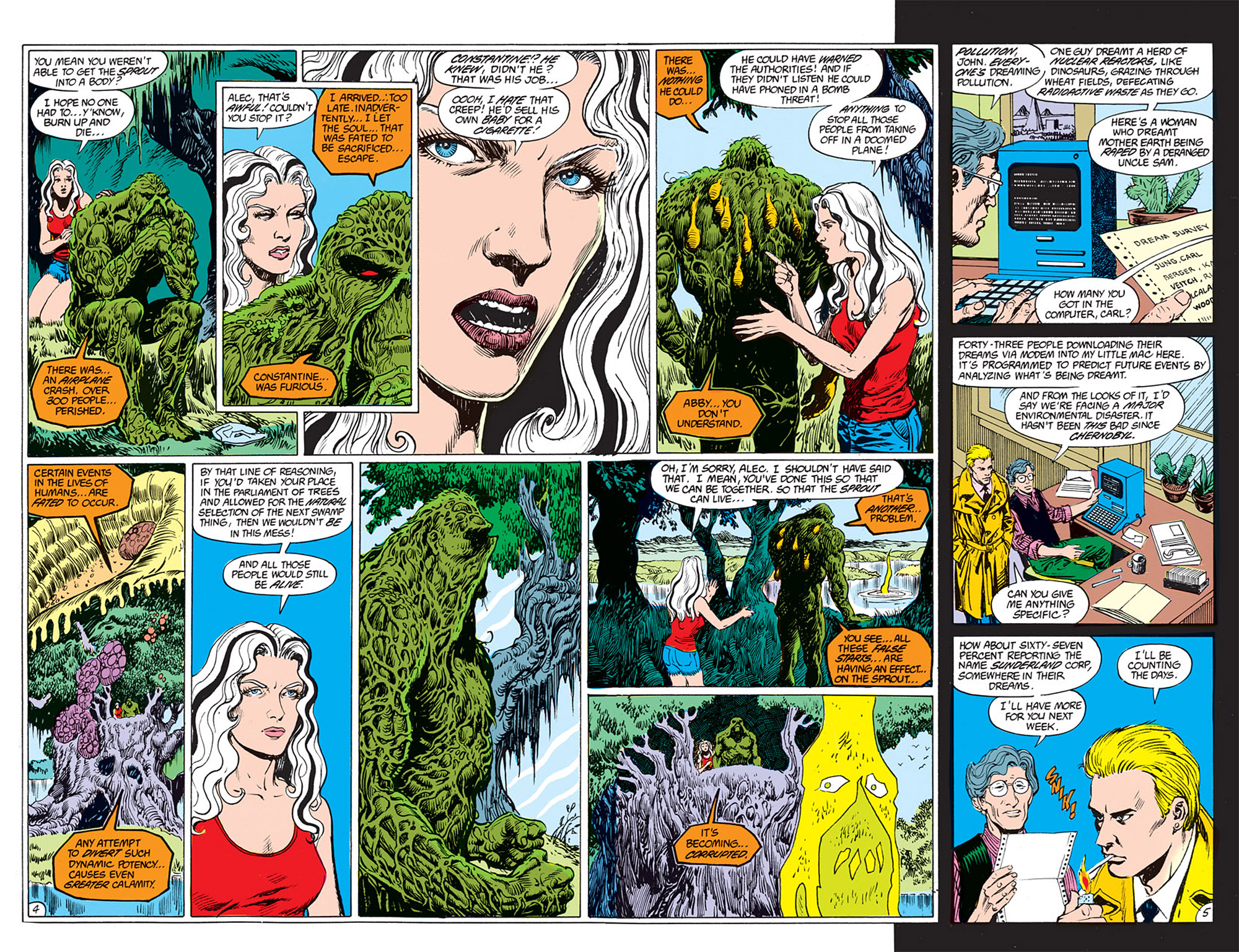 Swamp Thing (1982) Issue #72 #80 - English 4
