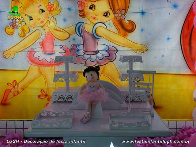Decoração infantil Bailarinas, aniversário infantil