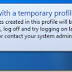 เข้าวินโดวส์แล้วข้อมูลบนหน้าจอหาย เกิดจาก User Profile เสียหายใน Windows 7
