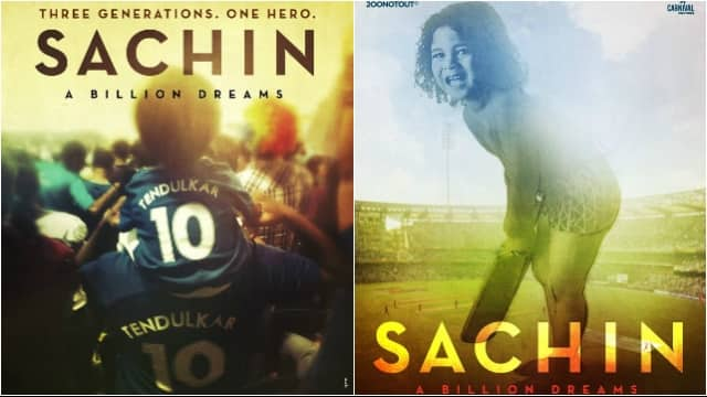 Sachin: A Billion Dreams Bollywood movie based on Cricket