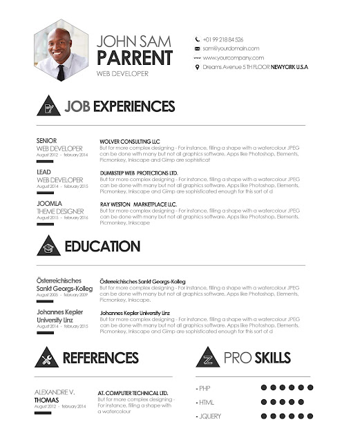 Downloadable Resume Templates Free | Resume Format Download Pdf