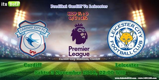 Prediksi Cardiff Vs Leicester  - ituBola