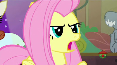 Fluttershy getting angry