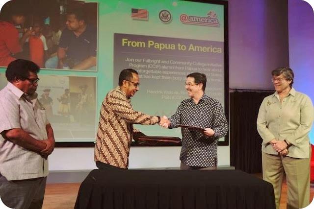 American Indonesian Exchange Foundation (AMINEF) dan PT Freeport Indonesia (PTFI) Lanjutkan Kerjasama Beasiswa Mahasiswa Papua