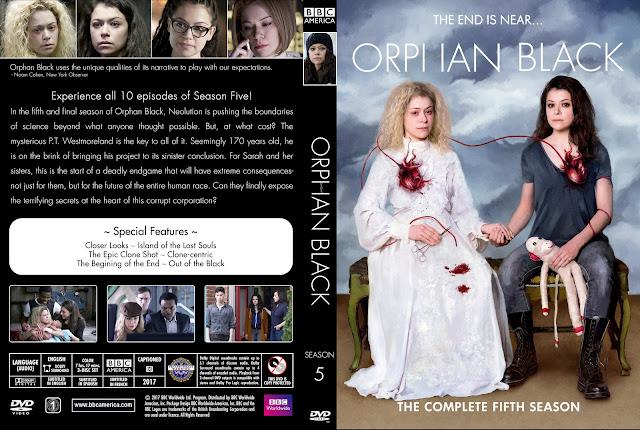 Orphan Black Season 5 DVD Cover