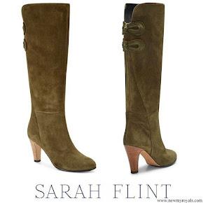 Meghan Markle wore Sarah Flint Marina Boots