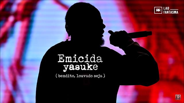 """Emicida lança o som """"Yasuke"""" (Bendito, Louvado Seja), musica tema do desfile da marca LAB"""