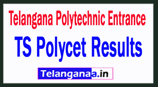 TS Polycet Results 2018 Telangana Polytechnic Entrance 2018 Results Rank cards