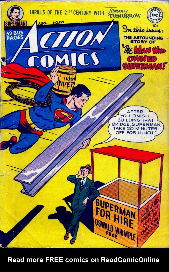 Action Comics (1938) 159 Page 1