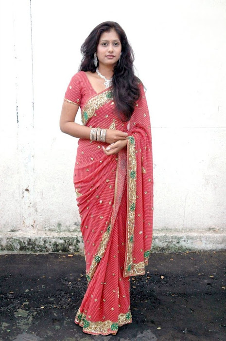 harini saree @ kalavaram audio launch cute stills