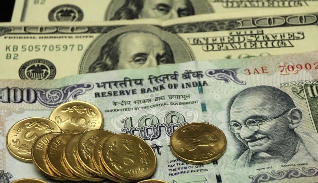 डॉलर के मुकाबले रुपया पिछले एक हफ्ते के उच्चतम स्तर पर