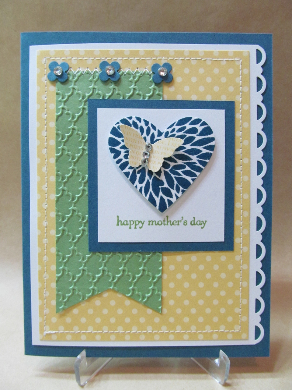 Savvy Handmade Cards: Happy Mother's Day Card