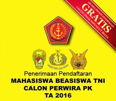 Mahasiswa Beasiswa TNI