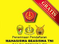 Penerimaan Mahasiswa Beasiswa TNI 2016