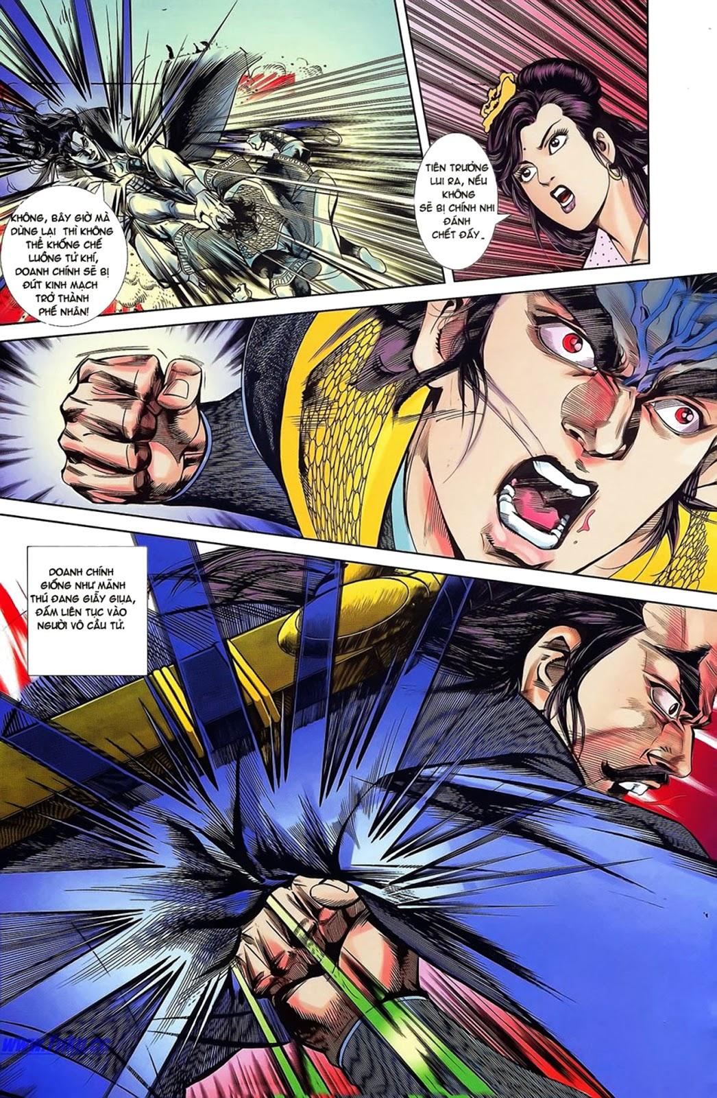 Tần Vương Doanh Chính chapter 15 trang 27