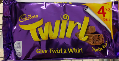 Cadbury Twirl chocolate