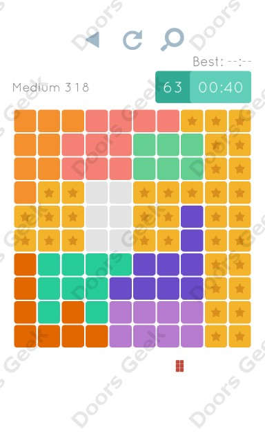 Cheats, Walkthrough for Blocks and Shapes Medium Level 318
