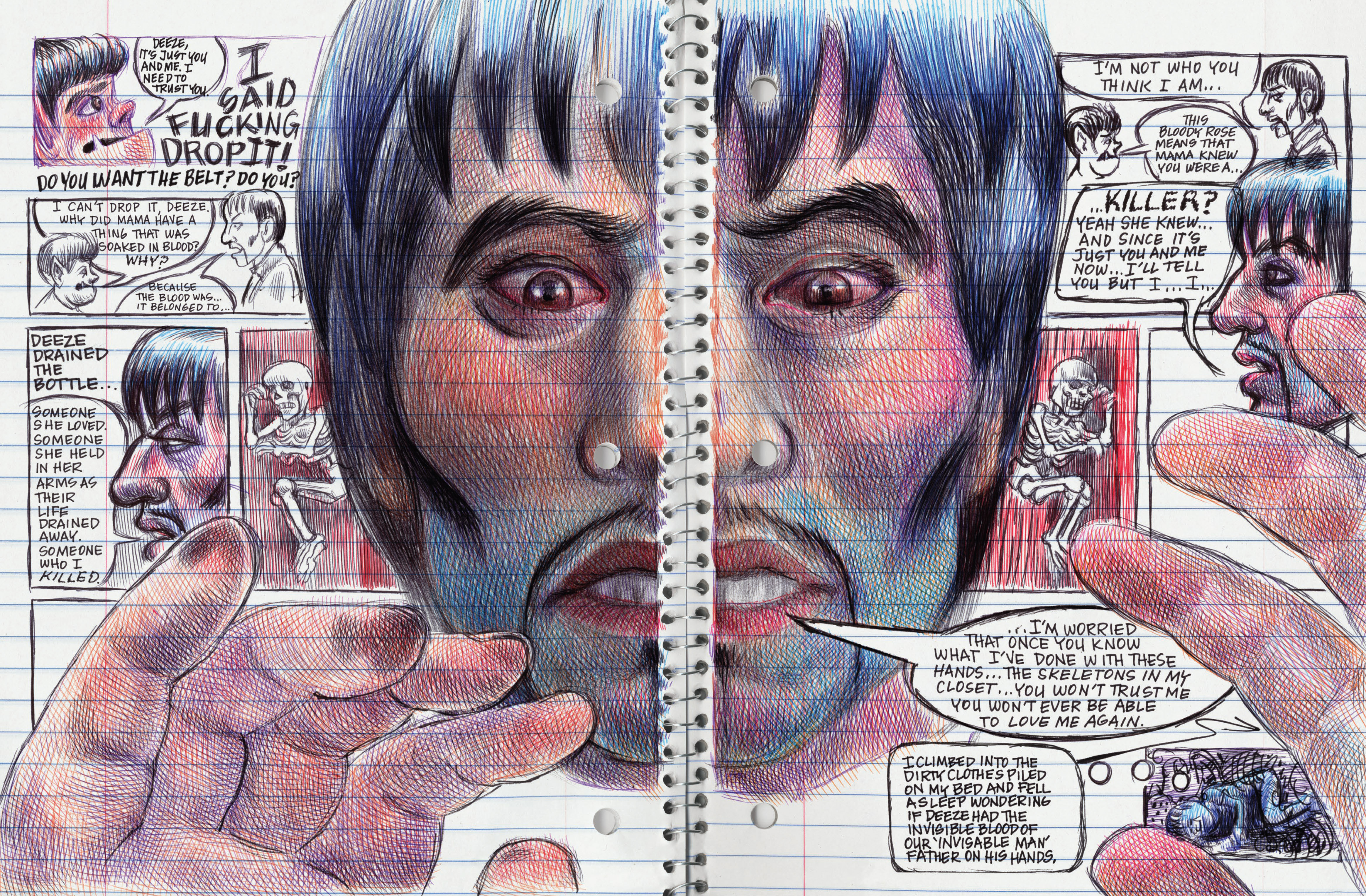 Read online My Favorite Thing is Monsters comic -  Issue #1.5 - 179