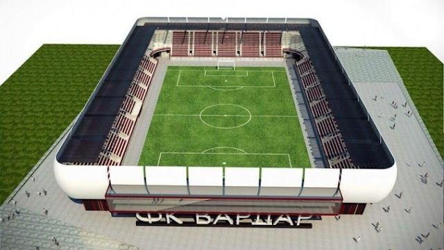 Neue Fußballarena für FK Vardar