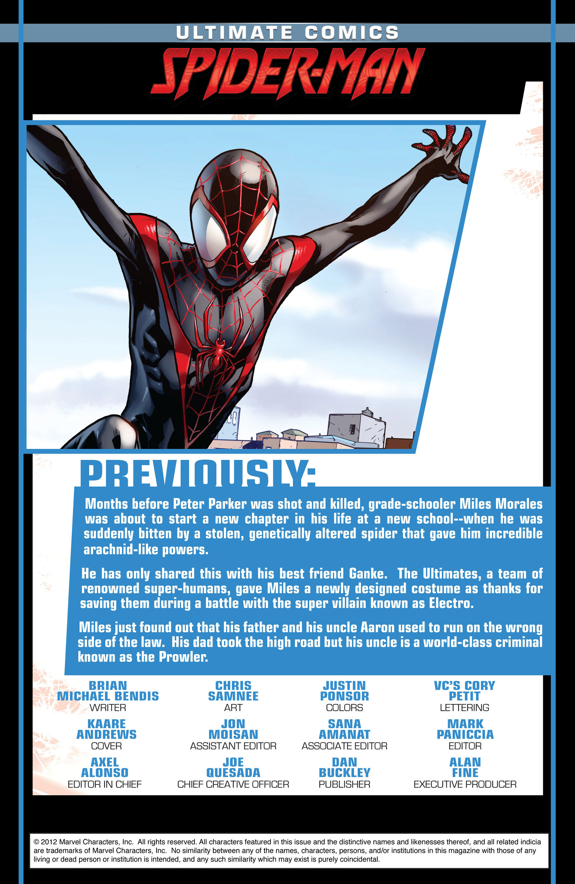 Read online Ultimate Comics Spider-Man (2011) comic -  Issue #6 - 2