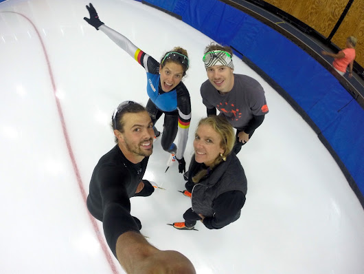 First Days Back on the Ice in Salt Lake City For a 3 Week Training Camp This Past July!