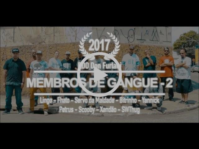 Membros de Gangue parte 2 🔥 Juntando a nova e a velha escola - Um dos primeiros Cyphers do Brasil retorna