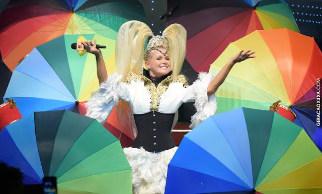 Xuxa comanda hoje show em Recife