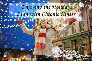 enjoying holidays with chronic illness  life's a polyp