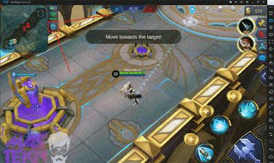 game mobile legends sudah terinstal di emulator