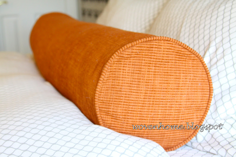 Woven Home: Long Lumbar Pillow Tutorial