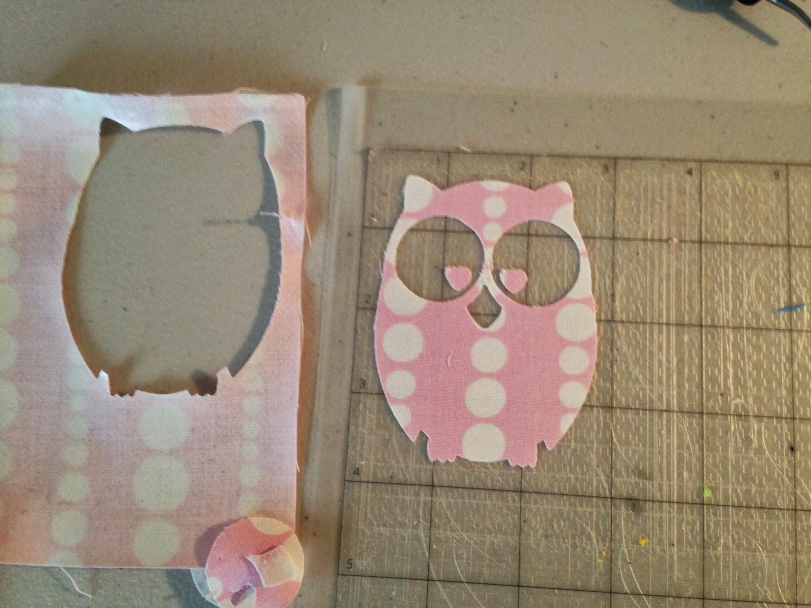 Silhouette tutorial, fabric, glitter HTV, glitter heat transfer vinyl, Silhouette Studio, owl