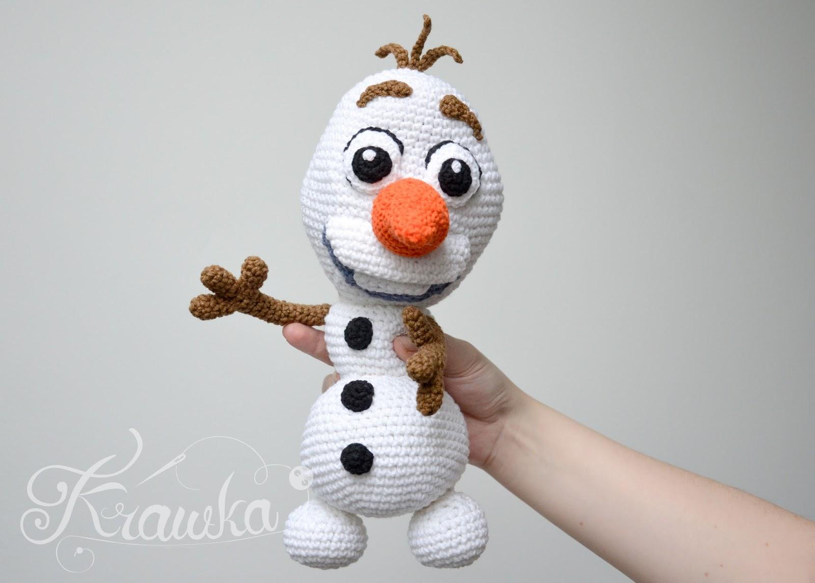 Amigurumi Patterns Olaf : Krawka olaf